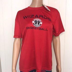 Washington wizards basketball NBA T-shirt size YXL